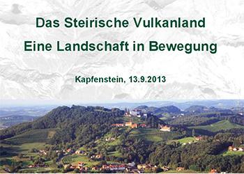 Symposium Vulkanismus